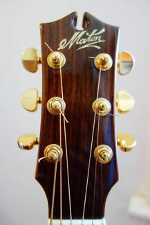 Maton Messiah EM100C - an authentic example of an acoustic legend Redfern Inner Sydney Preview