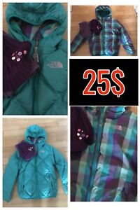 Manteau North Face fille 10-12 ans
