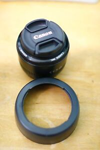 Canon EF 50mm f/1.8 STM Lens with UV Filter & Lens Hood Mortdale Hurstville Area Preview