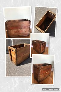 Vintage Banboard Canada Dry Syrup Crate