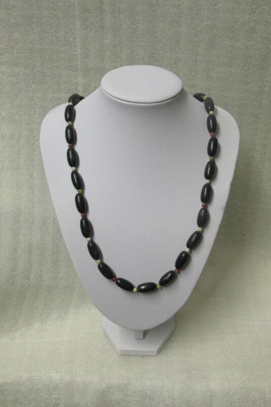 GENUINE Marble Of Ireland(4 Province) Beaded Celtic Necklace Guaranteed Irish