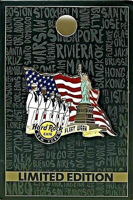 Hard Rock Cafe New York Pin Fleet Week Military Sailor 2019 LE NEW # 504304