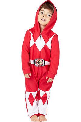 Red Power Ranger Pajamas (Power Ranger Boys' Red Ranger Critter Pajama)