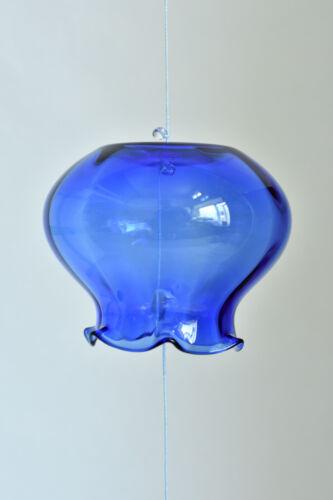 """Japanese Handmade Glass Wind Bell Furin """"Giyaman Furin"""" : made in Hokkaido"""