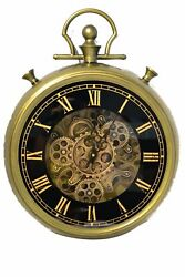Roll over image to zoom in Large Decorative Pocket Watch Wall Clock- Traditional