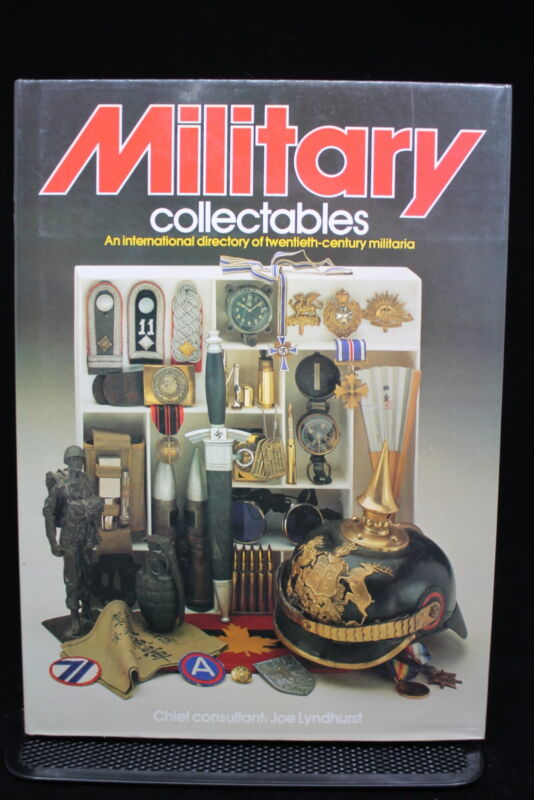 WW1 WW2 German British Canadian US Military Collectables Reference Book