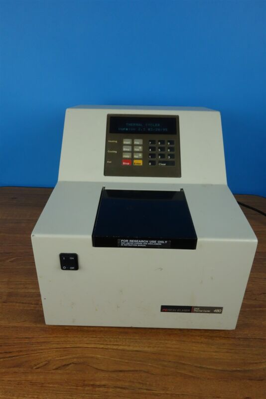 Perkin Elmer 480 DNA Thermal Cycler - Tested, Heats / Cools - Working