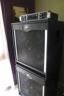 Peavey Bass Guitar Head + 2 X Cabinets