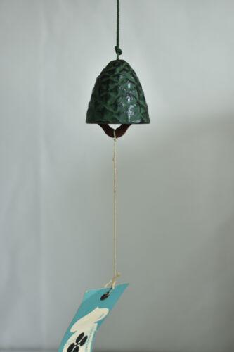 Japanese Old Iron Wind Bell Nanbu Furin :A