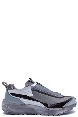 11 by Boris Bidjan Saberi Light Grey Salomon Edition Bamba 2 Low Top Sneakers