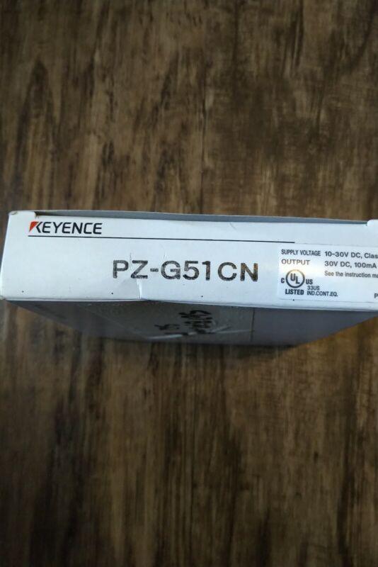 Keyence PZ-G51CN Square Transmissive Photoelectric Sensor