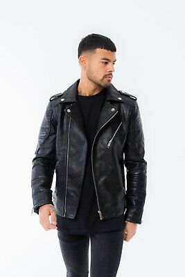 """Il Sarto Black Quilted Leather Jacket XL 42"""" (New) SOLD OUT Hera Couture"""