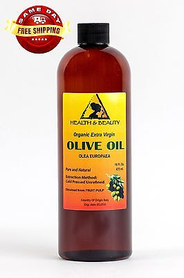 Olive Oil Extra Virgin Organic Unrefined Raw Cold Pressed...