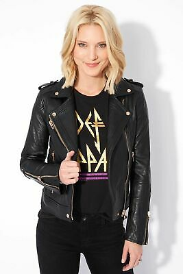 Blanknyc The One Leather Jacket WOMENS SIZE XL XLARGE BLACK NEW