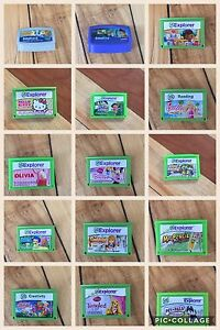Leap Frog Explorer Innotab Game Cartridges!