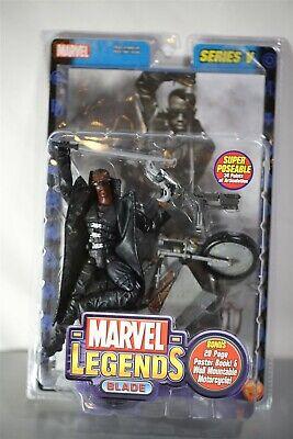 Marvel Legends Series V Blade Movie Wesley Snipes Action Figure New ToyBiz
