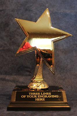Large Gold Star Trophy - 8
