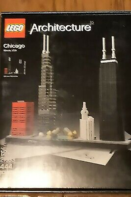 LEGO Architecture Chicago (21033). Brand New. Exc Cond. Free Shipping