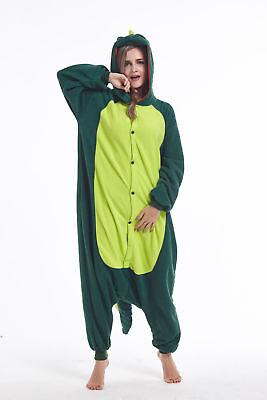 Women Men Unisex Adult Onesie0 Animal Dinosaur Kigurumi Pajama Cosplay Costume - Dinosaur Onesie