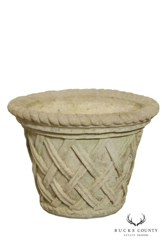 Quality Cast Stone Garden Planter