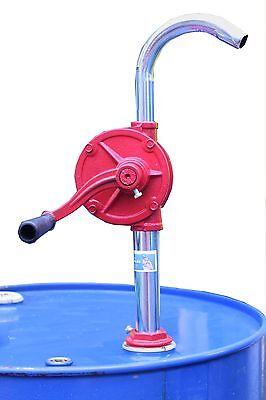 Kurbelpumpe Fasspumpe Kurbelfasspumpe Handpumpe Umfüllpumpe Dieselpumpe Ölpumpe