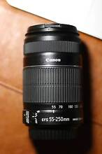 Canon EF-S 55-250mm f/4-5.6 IS II Lens - Perfect condition. Carlton Melbourne City Preview