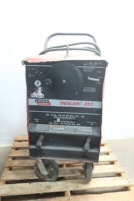 Lincoln Acdc250 Idealarc 250 Stick Welder 250a Amp 1ph 460v-ac