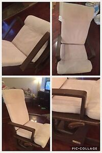 Chaise berçante Dutailler
