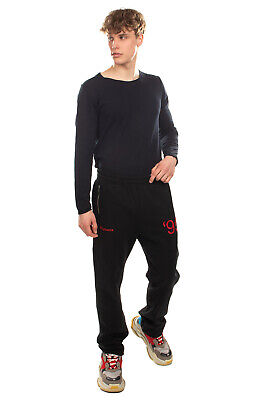RRP €285 MISBHV Sweat Trousers Size XL Embroidered '95 Elasticated Waist
