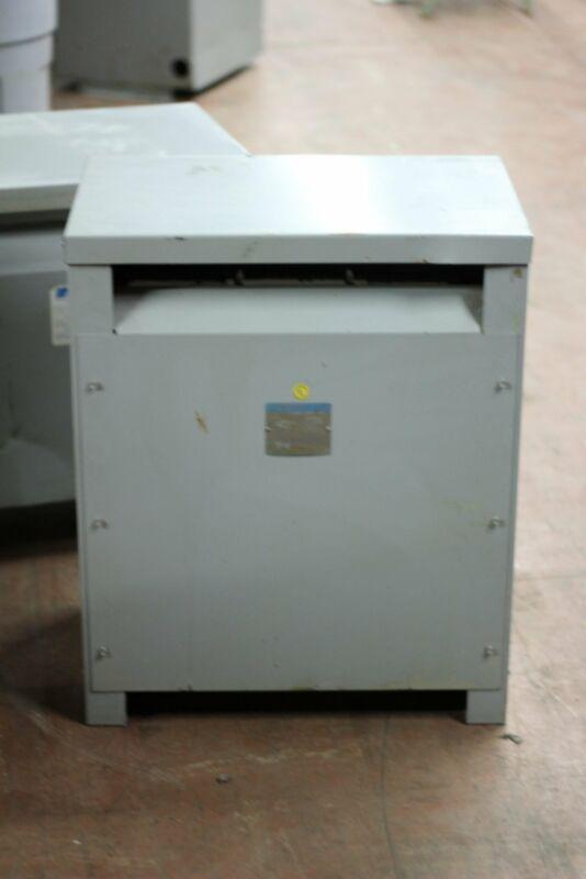WESTINGHOUSE 45KVA transformer V48M28T45E 480-208Y/120V DELTA WYE 2 year warrant