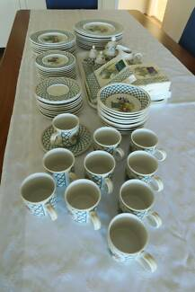 Villeroy and Boch Basket Weave Pattern 10 Piece Setting