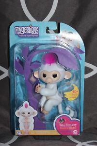 """Brand New Fingerlings White Monkey """"Sophie"""""""