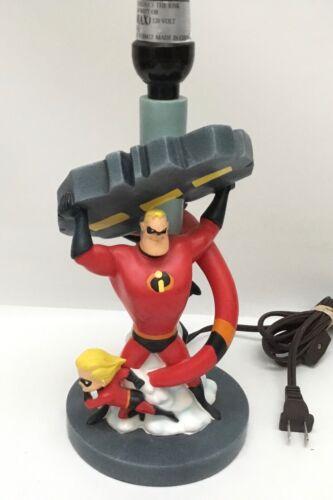 """Disney Pixar The Incredibles Table Lamp Retired 12"""""""