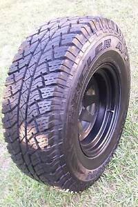 "15"" 4X4 WHEEL 31"" A/T TYRE 95% TREAD BRIDGESTONE 15X8 SUNRAYSIA Kallangur Pine Rivers Area Preview"