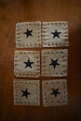 Primitive Burlap Cards /& Gifts Panel Appliqué Sign Rustic Wedding Reception NEW