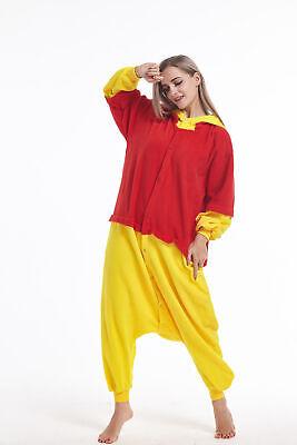 Women Men Animal Adult Onesie0 Winne the Pooh Kigurumi Pajamas Cosplay