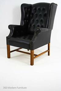 Mid Century Wingback Armchair Wing Chair Retro Vintage Narre Warren Casey Area Preview