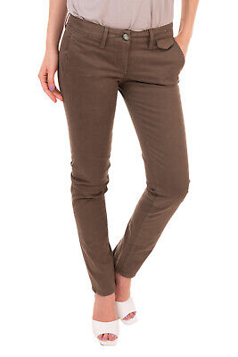 RRP €195 JACOB COHEN ELLEN ACADEMY Chino Trousers Size 27 Stretch Made in Italy