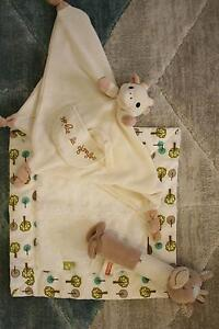 Baby toys/comforters inc Sophie Le Giraffe comforter Drummoyne Canada Bay Area Preview