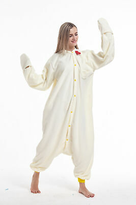 Animal Onesie0 Adult Chicken Unisex Kigurumi Pajama Cosplay Costume for Women
