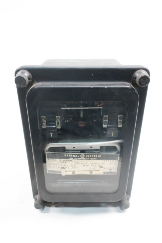 General Electric Ge 12IAC57B4A Time Overcurrent Relay