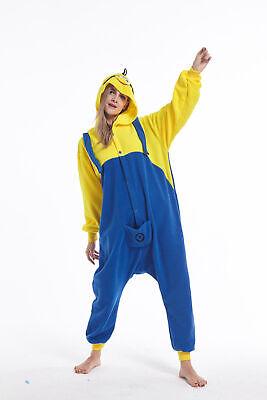 Women Men Unisex Adult Onesie0 Animal Minions Kigurumi Pajamas Cosplay