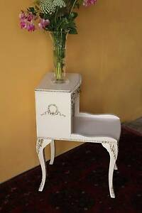 Vintage French Bedside table. Telephone table. Milton Brisbane North West Preview