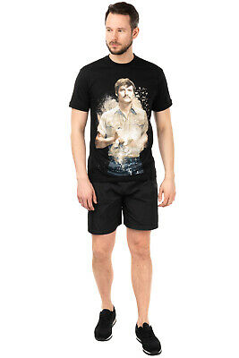RRP €245 IH NOM UH NIT T-Shirt Top Size XL Coated 'Narcos' Made in Italy