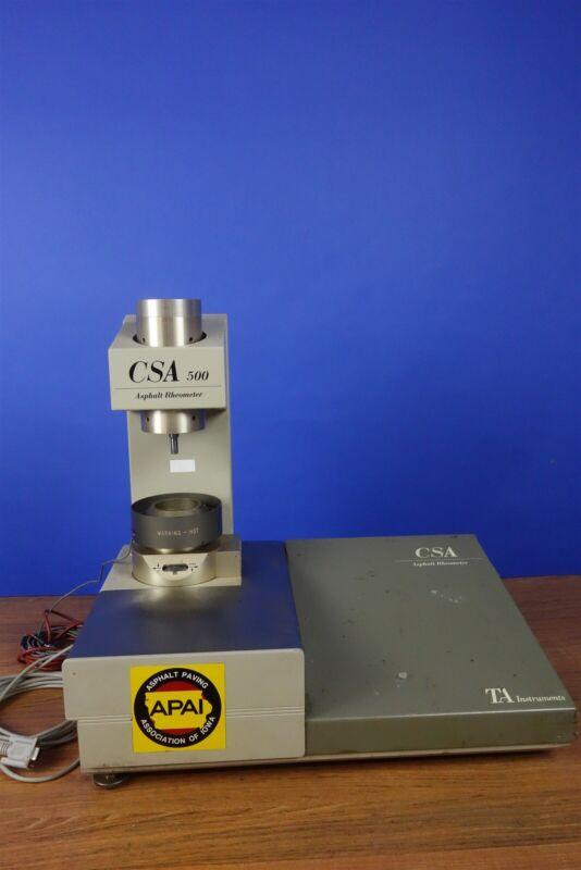TA Instruments CSA 500 Asphalt Rheometer