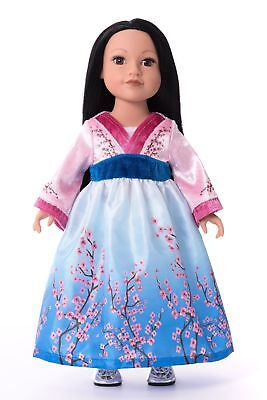 Doll Dress Asian Princess - Asian Princess Dress
