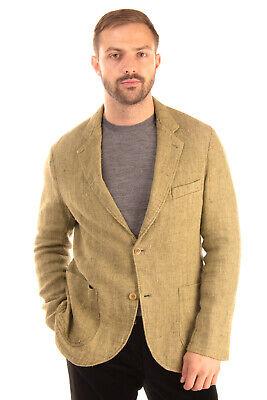 RRP €355 EAST HARBOUR SURPLUS Blazer Jacket Size 52 / XL Silk & Linen Blend