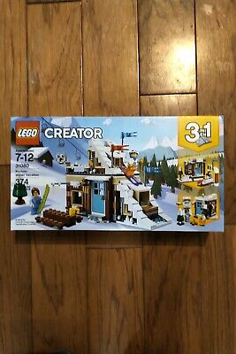 LEGO Creator Modular Winter Vacation 2018 (31080). Mint. Free + Fast Ship!