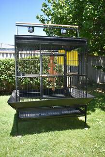 Large parrot cage or patio aviary