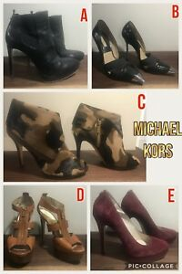 Michael Kors shoes (some heels and ankle boots are Collection)